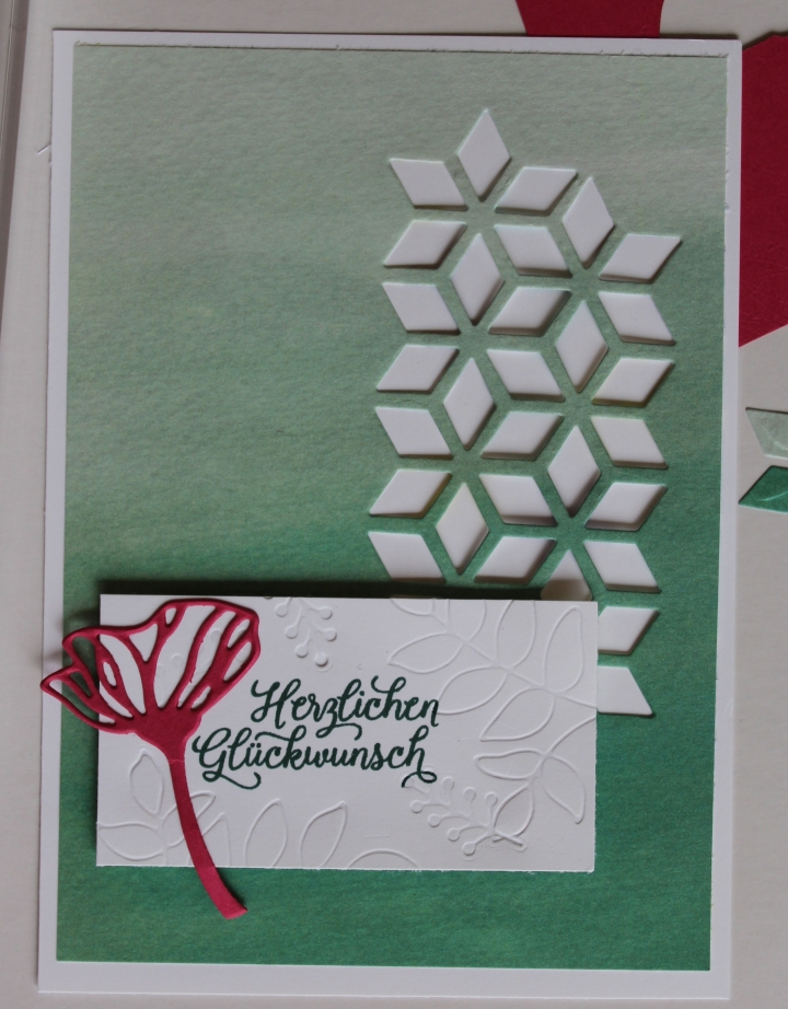Stempelhurra.com Eclectic Layers Geburtstagskarte, Stampin Up, SU