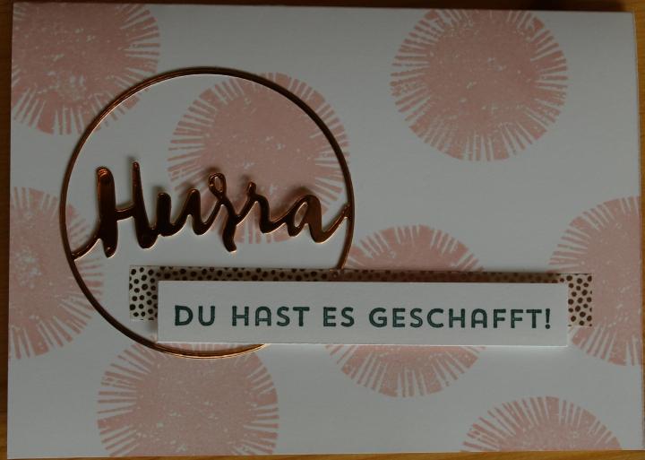 Stempelhurra.com Meilensteinkarte