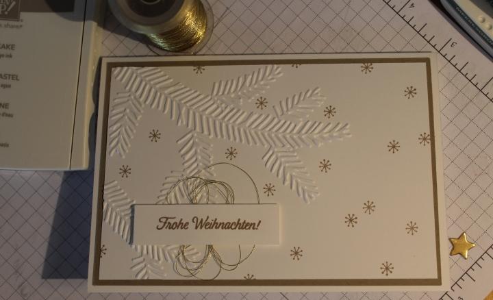 Stempelhurra.com Weihnachtskarte, Christmas card, Stampin Up