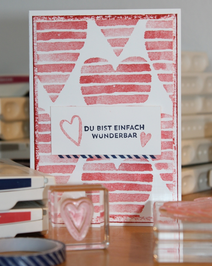 Stempelhurra.com Valentinskarte, Heart Happiness, Valentines Day, Stampin' Up!, SU