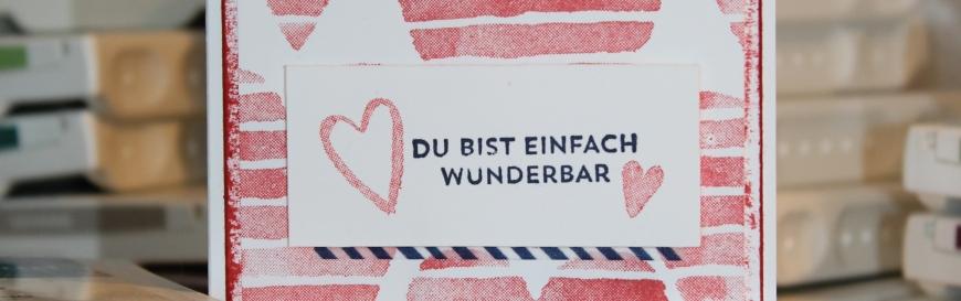 Stempelhurra.com Valentinskarte, Heart Happiness, Valentines Day, Stampin' Up!, SU