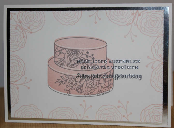 Stempelhurra.com Geburtstagskarte Tortentraum, Sweet Soiree, Birthday, Cake Soiree, Stampin' Up!, SU