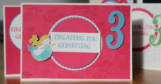 Stempelhurra.com, Einladung zum Kindergeburtstag, Zauberhafter Tag, Magical Day, Stampin' Up! SU
