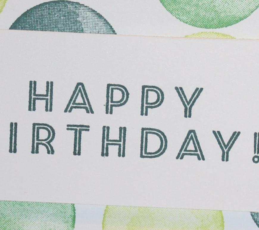 Stempelhurra.com Eclectic Expressions Geburtstagskarte, Stampin Up, SU
