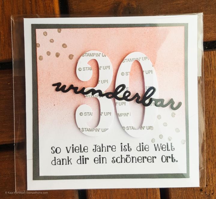Stempelhurra.com erhaltene Swaps OnStage 2018 Wiesbaden, Stampin Up, SU