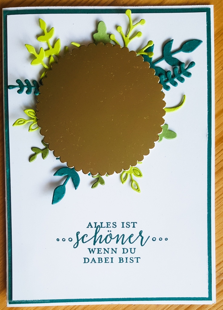 Stempelhurra.com, liebevolle Details Karte, detailed with love, Stampin Up, SU