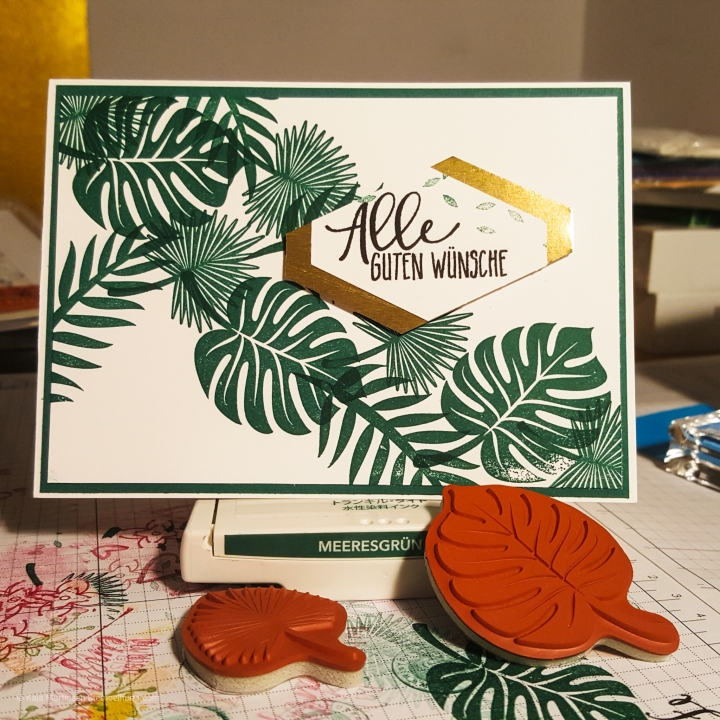 Stempelhurra.com, Tropenflair, Tropical Escape, Tropical Chic, Stampin Up, SU