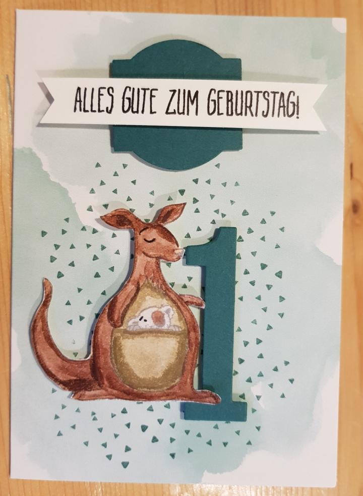 Stempelhurra.com, erster 1. Geburtstag, Wild auf Grüße, Animal Outing, Perfekter Geburtstag, Stampin Up, SU