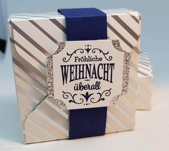 Stempelhurra.com, Weihnachtstraditionen, Christmas Traditions, Verpackung, Box, Stampin Up, SU