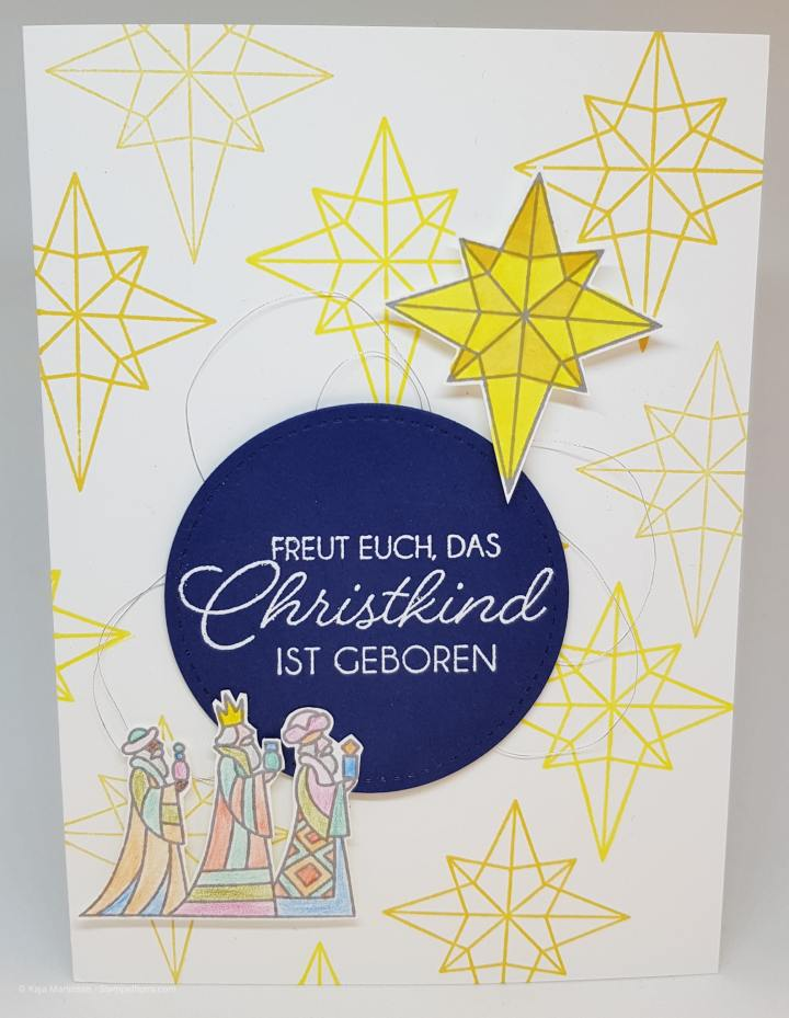 Stempelhurra.com, Illuminated Christmas, Weihnachten, Stampin Up, SU