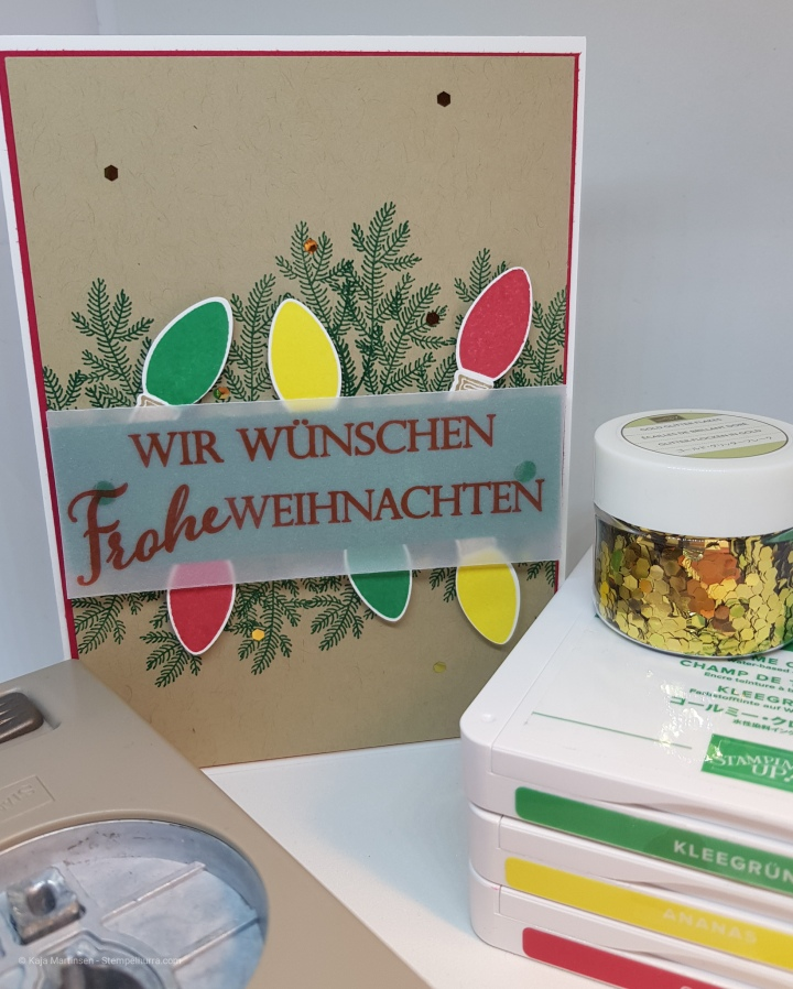 Stempelhurra.com, Leuchtende Weihnachten, Making Christmas Bright, Stampin Up, SU