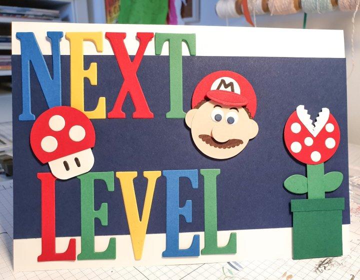 Stempelhurra.com Super Mario, zum Abschied, farewell, Stampin up, SU